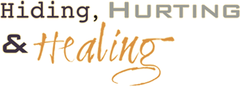 Hiding Hurting & Healing, Logo
