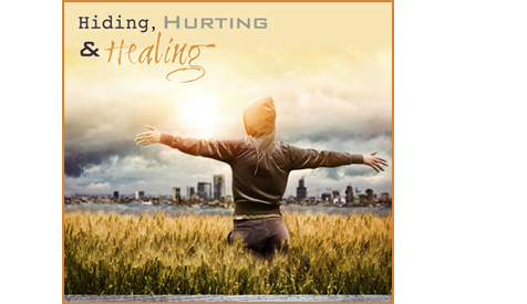 Hiding, Hurting & Healing Poster